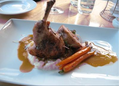 RESTAURANT LE QUARTIER GENERAL, MONTREAL - RABBIT